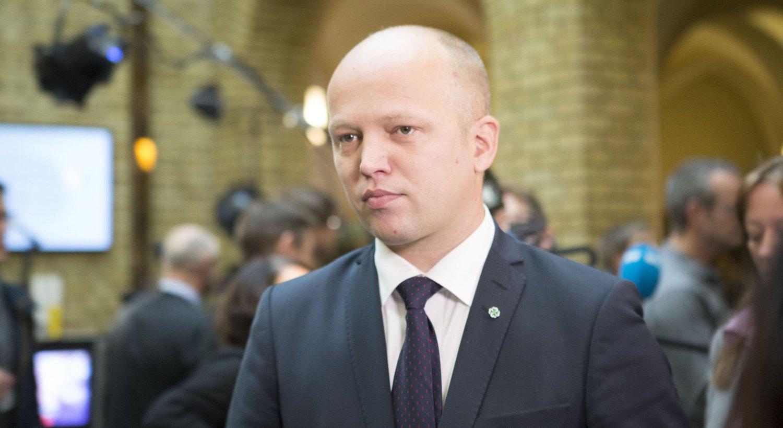 SIER NEI: Sp-leder Trygve Slagsvold Vedum mener det ikke er noen entusiasme for kommunereformen.