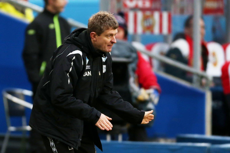 BEREDT: Branns nyansatte trener Lars Arne Nilsen, her som Hødd-trener under cupfinalen mot Tromsø i 2012.