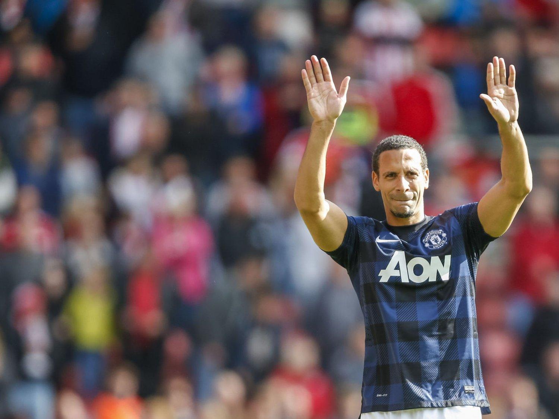 LEGGER OPP: Rio Ferdinand, her fra våren 2014, på tampen av den årelange perioden i Manchester United.