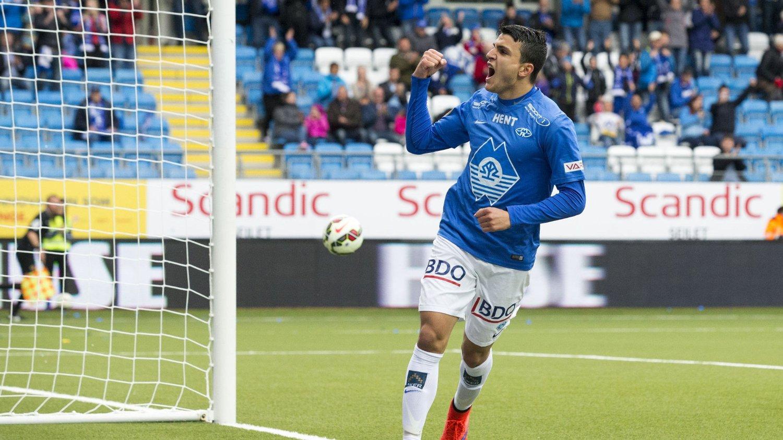 HET. Etter Hat-trick mot Sandefjord er Mohamed Elyounoussi etterspurt på landslaget. FOTO: NTB scanpix