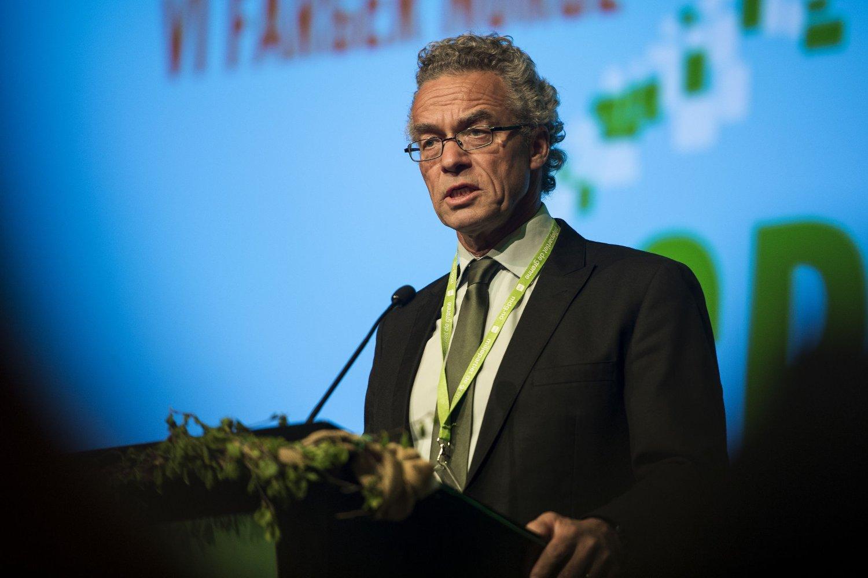 Miljøpartiet De Grønne og Rasmus Hansson kan glede seg over den siste meningsmålingen.