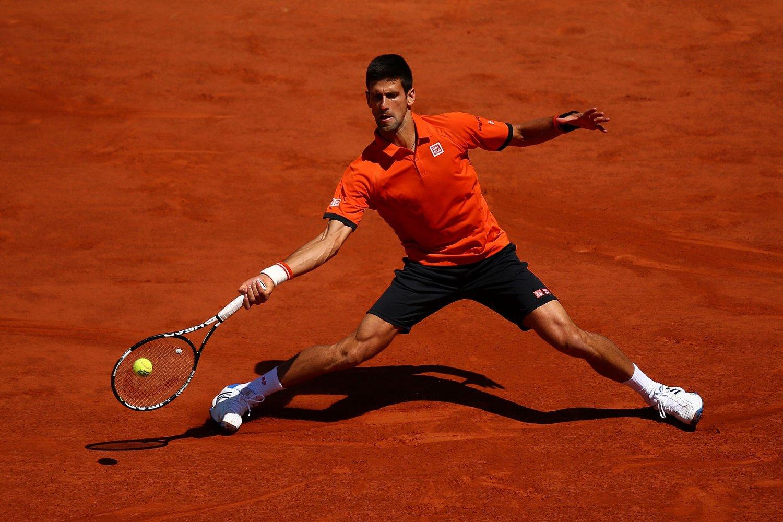 FINALEKLAR: Novak Djokovic beseiret Andy Murray i semifinalen i French Open, og er klar for finale på søndag.