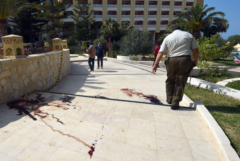 TERROR PÅ TURISTSTED: Minst 37 personer ble drept i hotellangrepet i Sousse i Tunisia fredag.
