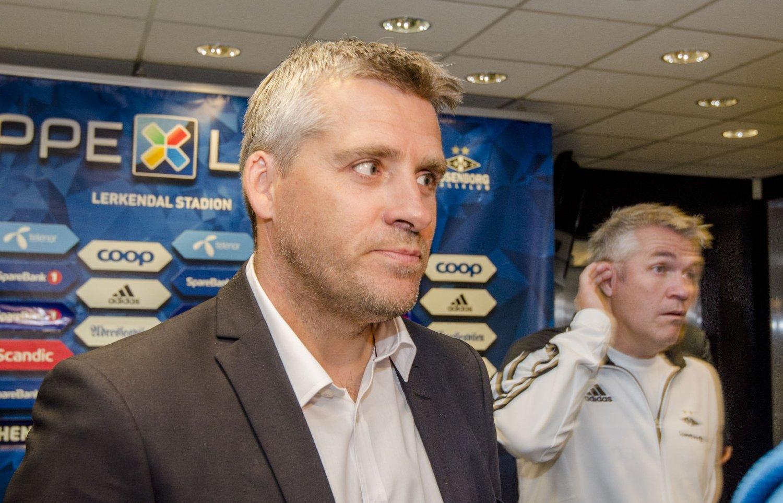 GIR SEG: Tor Ole Skullerud er inne i sin siste sesong som Molde-trener. Foto: Ned Alley / NTB scanpix