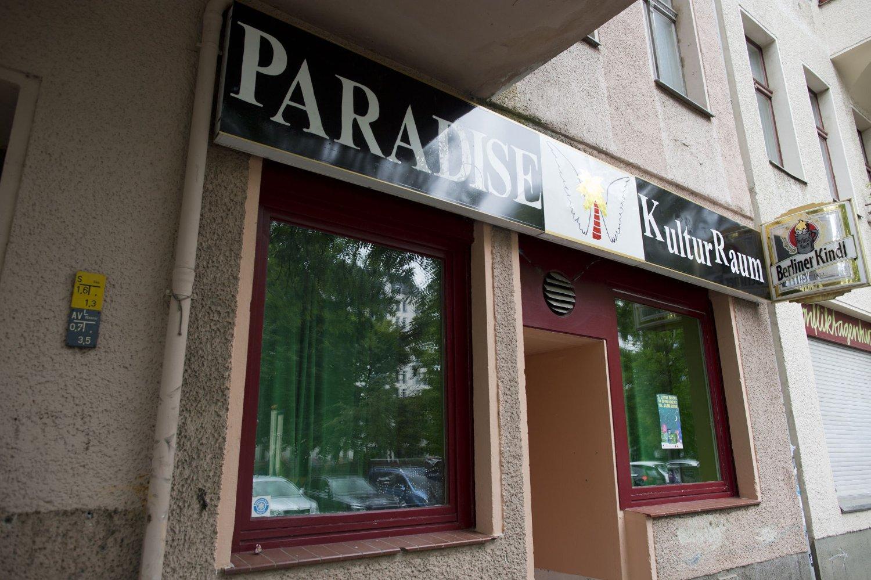 DREPT: En norsk kvinne ble 13. juni funnet drept i Berlin. Politiet har har gjort funn i dette kunstfellesskapet Paradise Kulturraum som kan knyttes til drapet. Foto: Joacim Jørgensen / NTB scanpix
