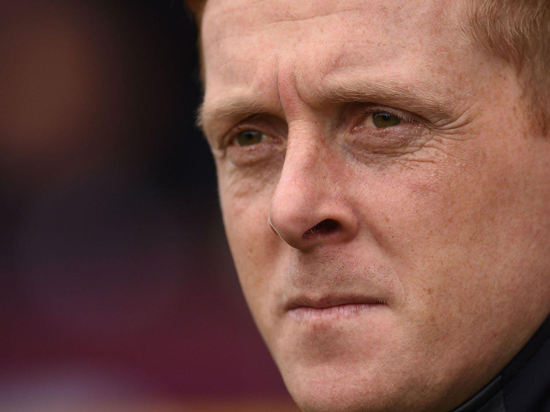 BLIR TIL 2018: Swansea-manager Garry Monk.