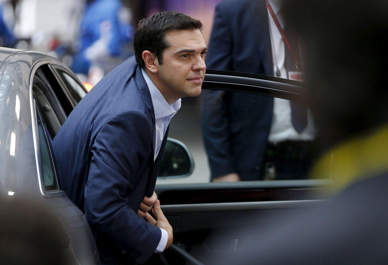 TØFF TID I VENTE: Forsker mener Alexis Tsipras har tøffe tider foran seg.