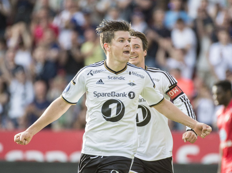 SCORET: Pål Andre Helland ble eneste målscorer på Island.