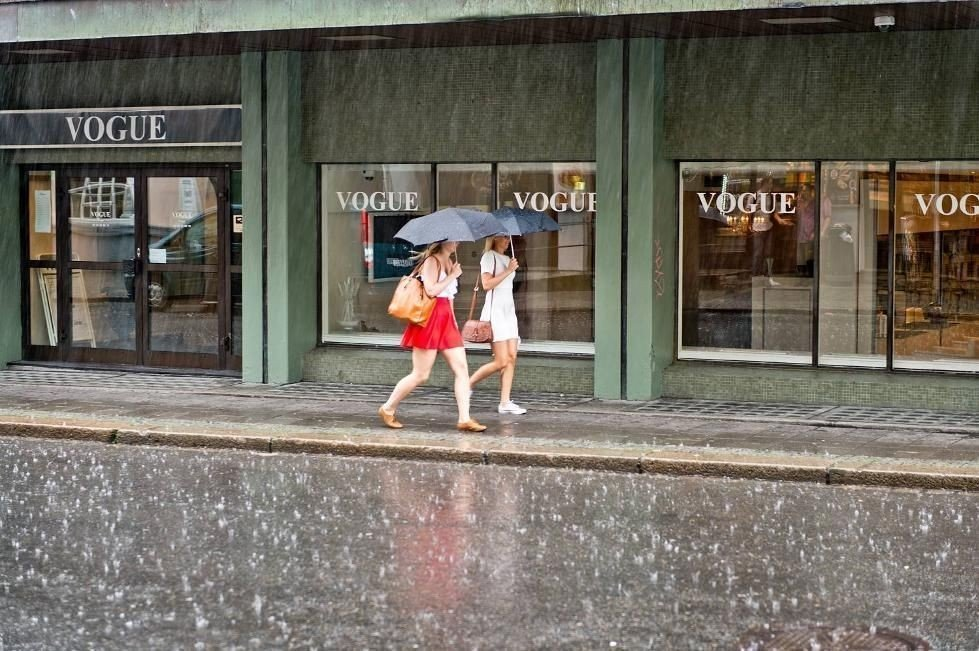 Regn i Bergen er et velkjent fenomen.