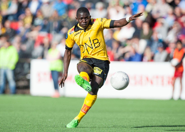 DRAR UTENLANDS: Moryké Fofana er trolig ferdig som Lillestrøm-spiller Her fra cuptapet mot lokalrivalen Strømmen tidligere i år.