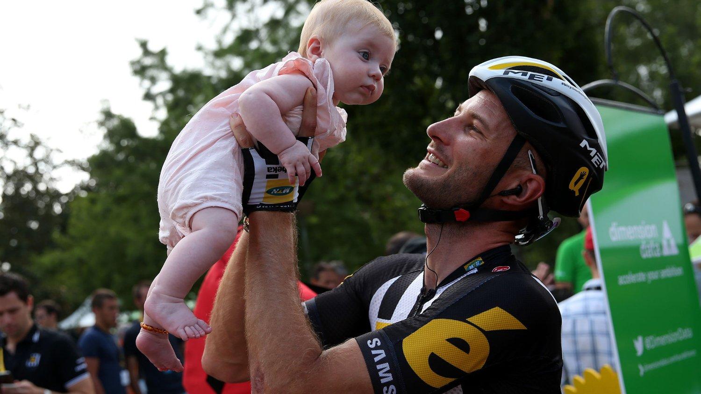 VANT: MTN-Qhubekas Stephen Cummings gikk til topps på den 14. etappen i Tour de France.