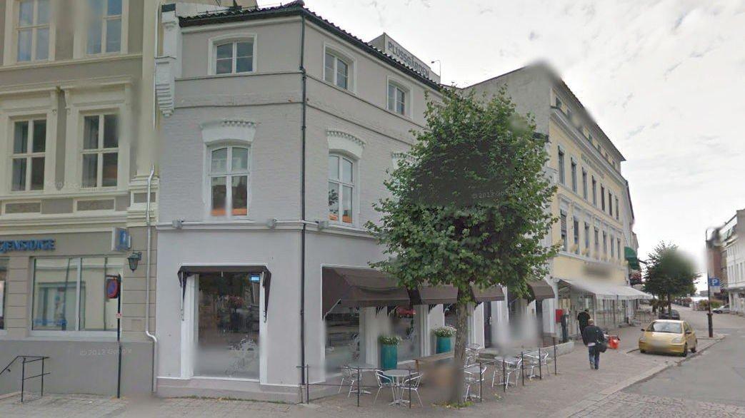 Pakkhuset på Torvet i Arendal er nå galleri.