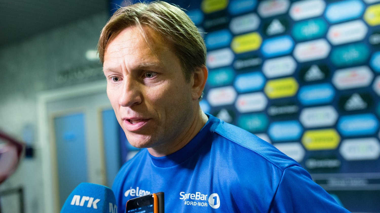 FERDIG: Steinar Nilsen har fått sparken som Tromsø-trener.