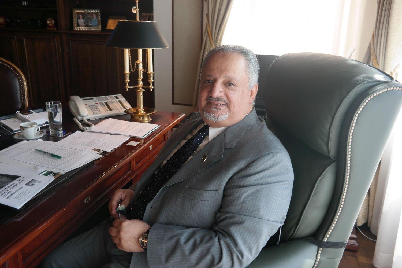 Saudi-Arabias ambassadør til Oslo, Esam A. Abid Althagaf.
