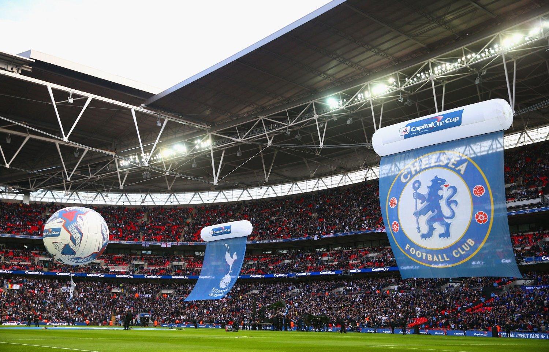 Tottenham og Chelsea spilte mot hverandre på Wembley i ligacupfinalen tidligere i år. Nå kan de to lagene komme til få spille langt flere kamper på den samme stadion.