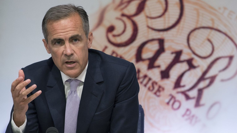 Sentralbanksjef i Bank of England, Mark Carney. AFP PHOTO / Anthony Devlin