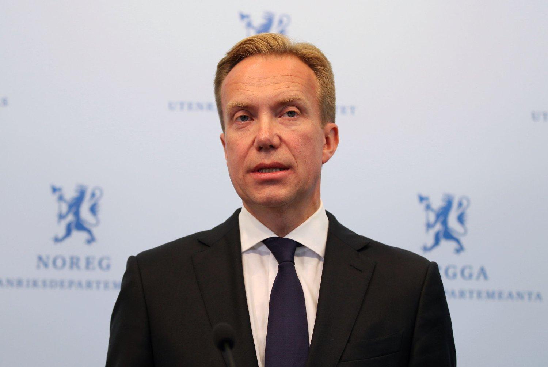 Utenriksminister Børge Brende holdt en orientering om bortføringssaken i Syria torsdag ettermiddag.