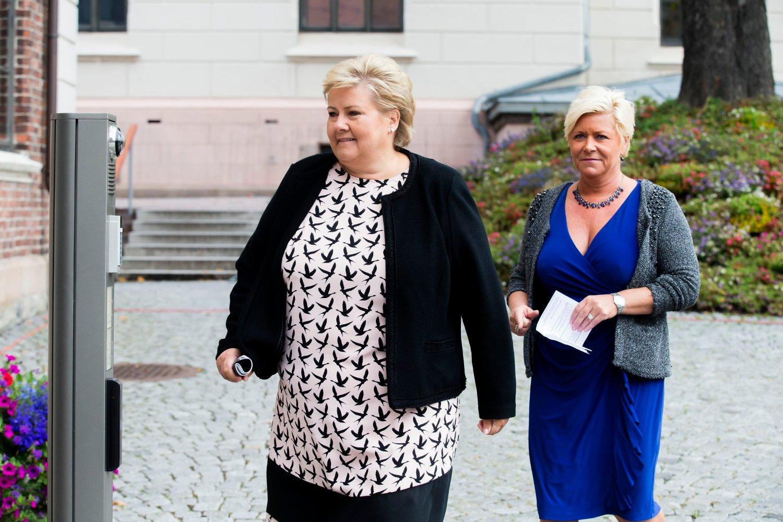Høyre og Frp går fram i siste TV 2-måling.