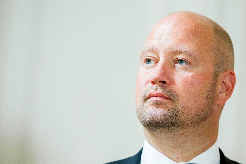Justisminister Anders Anundsen.