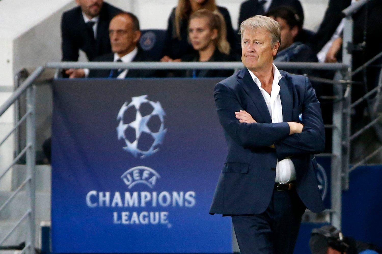 LANGT FRAM: Åge Hareide har ført Malmö til Champions League to sesonger på rad. Men innsatsen i den svenske ligaen denne sesongen kvalifiserer ikke klubben til mer europscupspill. Her fra bortekampen mot PSG i Paris nylig.