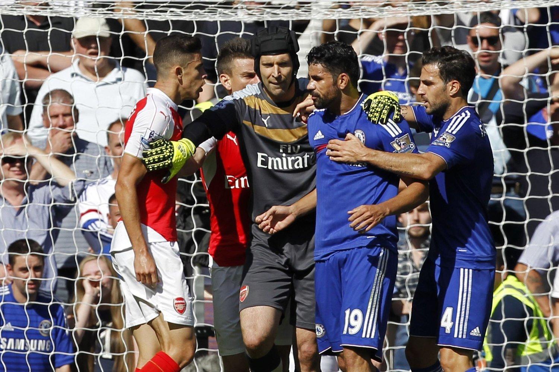 KLAMMERI: Diego Costa er kjent for å provosere sine motstandere.
