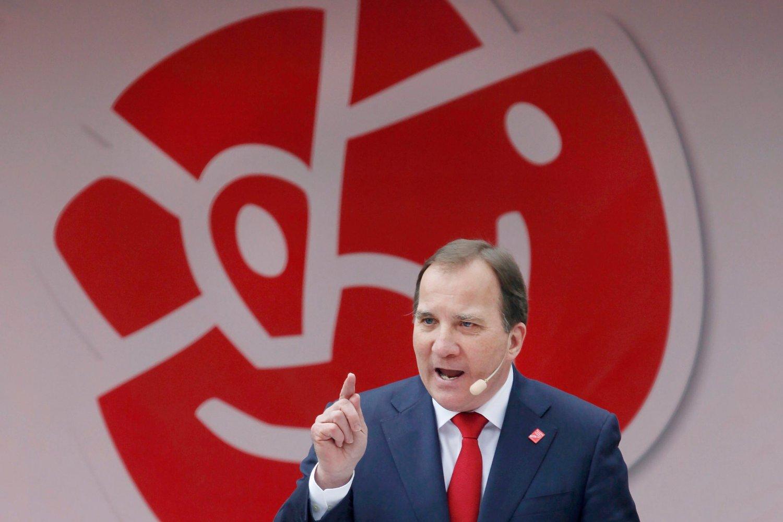 Statsminister Stefan Löfvens parti Socialdemokraterna går fram på den nye målingen.