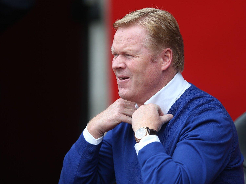 SER MULIGHETER: Southampton-sjef Ronald Koeman.