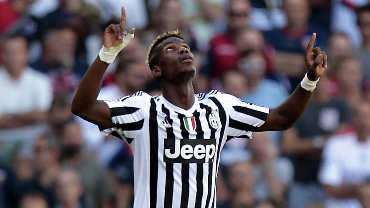 Paul Pogba var sentral da Juventus vant 2-0 borte mot Genoa.