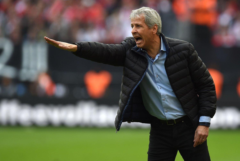 SLUTTET: Etter fem strake tap valgte Mönchengladbach-trener Lucien Favre å si opp trenerjobben.