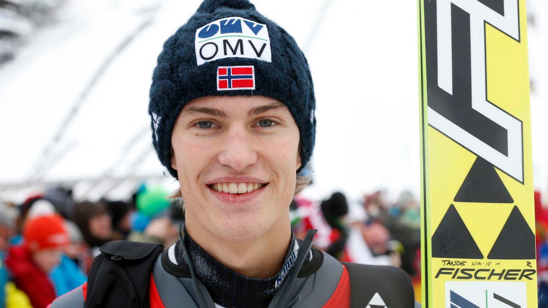 Daniel-André Tande vant søndagens COC-renn i Midtstuen.