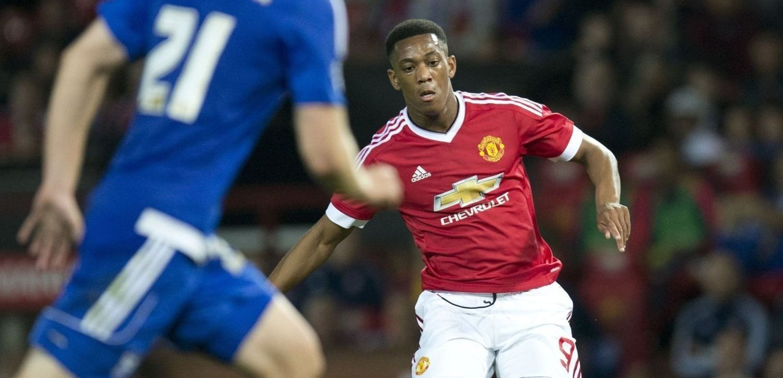 KOMET: Anthony Martial har fått en god start i Manchester United.
