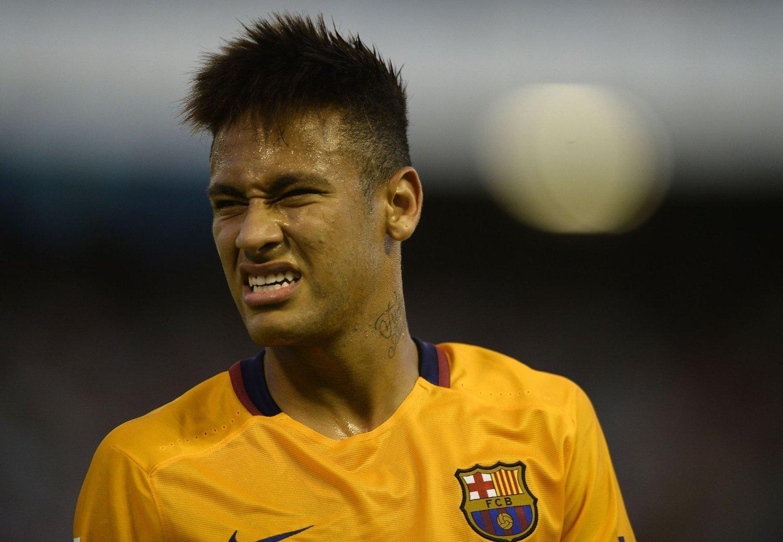 FROSSET VERDIER: Barcelona-profilen Neymar.