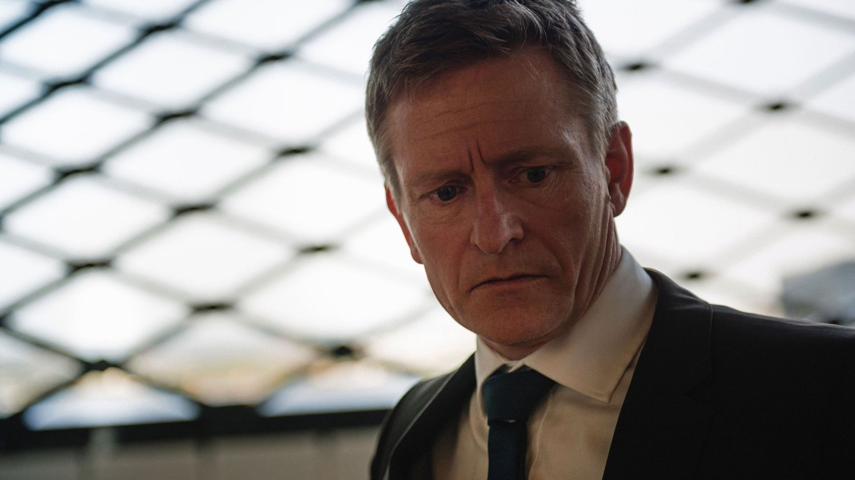 TREFFSIKKER: Hovedrollen i «Okkupert» spilles av Henrik Mestad.