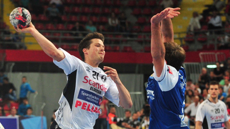 Steffen Stegavik og Elverums håndballherrer tapte søndag 29-30 for ukrainske Motor Zaporozje i gruppespillet i mesterligaen.