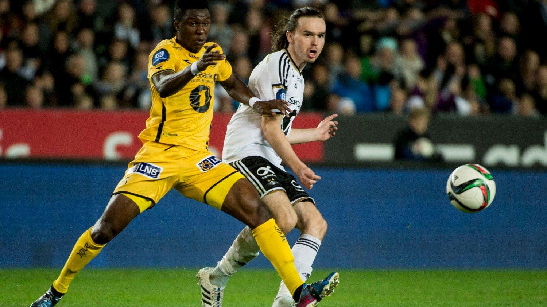 KAN VINNE: Rosenborgs Ole Selnæs (t.h) er blant kandidatene til Gullballen.