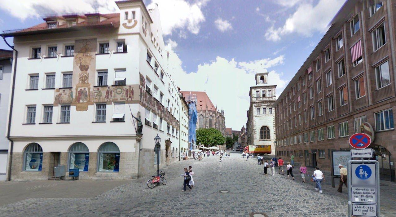 DRØMMEBY: Tyske Nürnberg er blant byene som har bilfrie løsninger som Miljøpartiet De Grønne ønsker i Oslo. Nedenfor kan du ta en interaktiv tur i Nürnberg og andre gå- og sykkelvennlige byer i Europa.