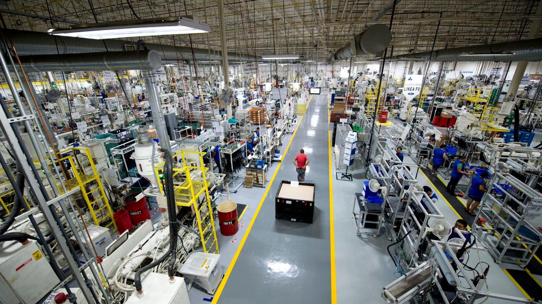 Bildelprodusenten Kongsberg Automotive vinner ny kontrakt. Her fra en av selskapets fabrikker.