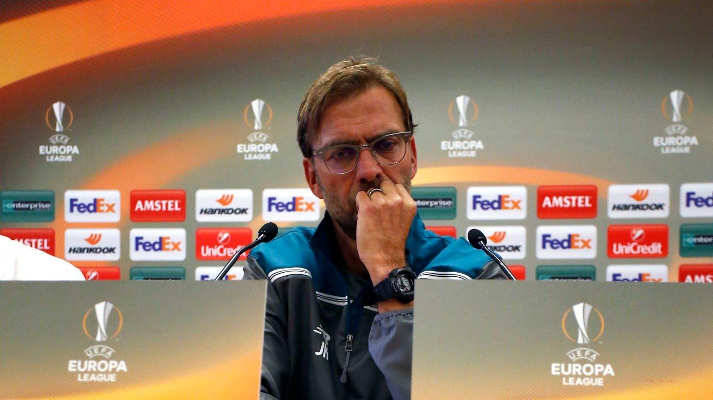 IKKE FORNØYD: Liverpool-manager Jurgen Klopp.