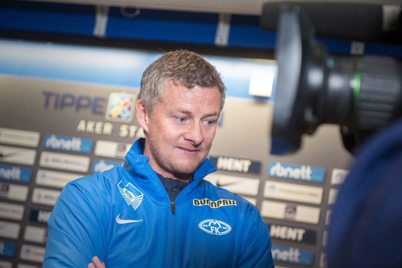ADVARSEL: Ole Gunnar Solskjær er klar på hvem han vil ha med seg i Molde.