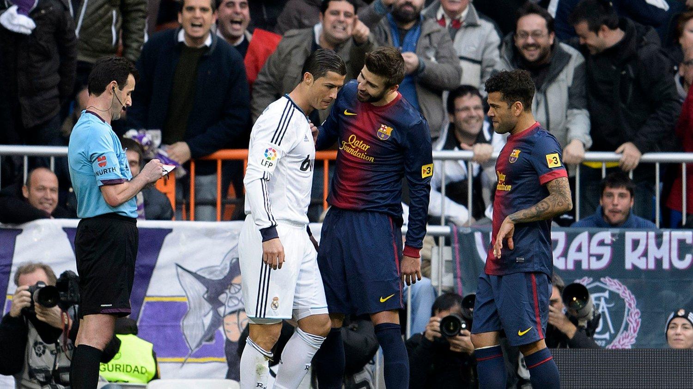SKANDALE: En assistentdommer i spansk fotball skal ha fått beskjed av det spanske fotballforbundet om å dømme til fordel for Real Madrid under El Clasico i november. Dette bildet er fra forrige sesong.