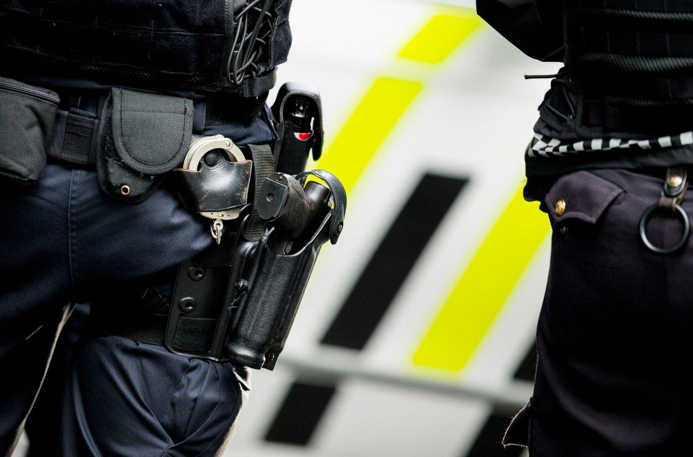 Politiet har hatt midlertidig bevæpning siden november 2014. Illustrasjonsfoto.