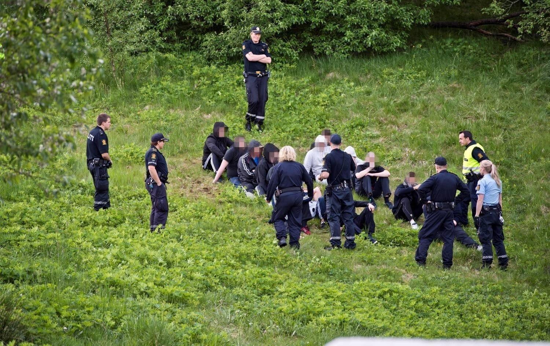 22 personer ble arrestert etter slagsmålet i Fyllingsdalen i fjor. Det ble dyrt for dem.