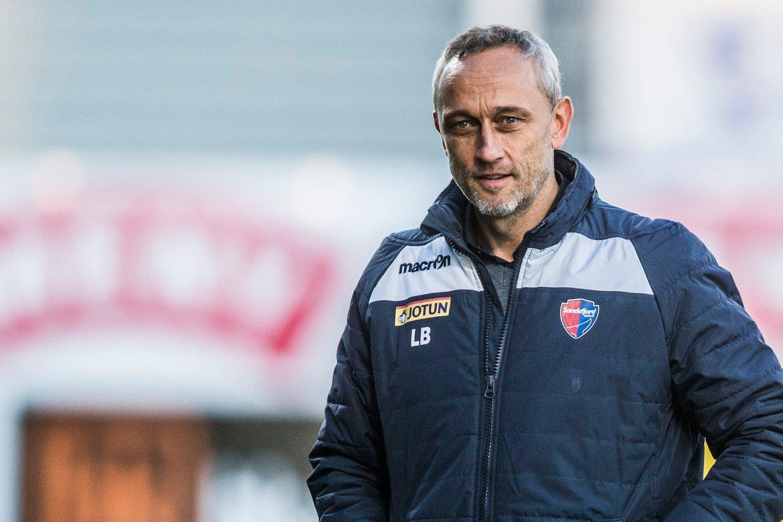 NY KONTRAKT: Lars Bohinen blir i Sandefjord.