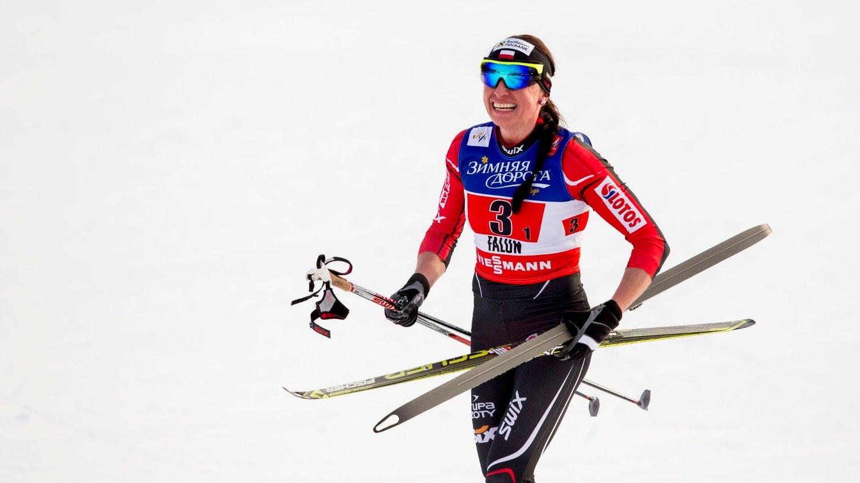 Justyna Kowalczyk skal gå for Team Santander kommende sesong.
