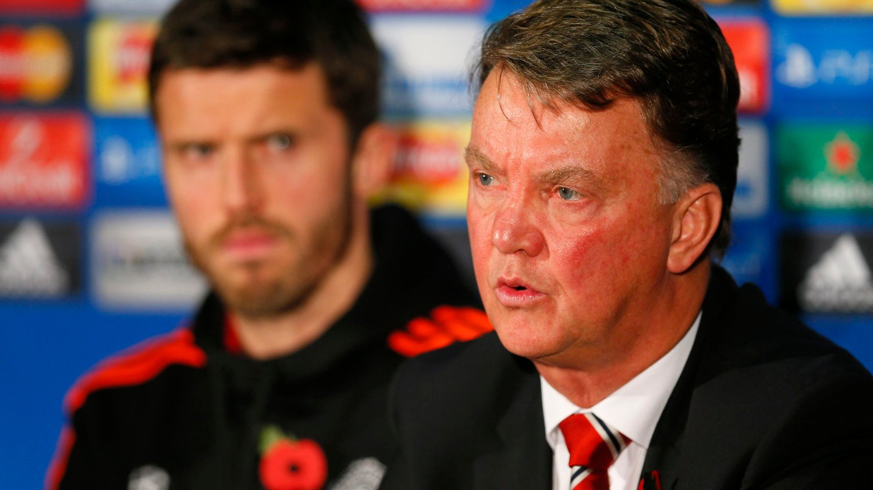 VIL HANDLE? Manchester United-manager Louis van Gaal.