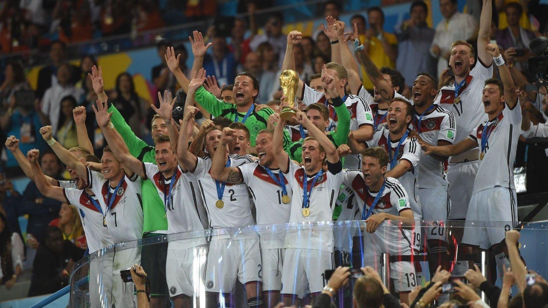 RAZZIA: Det tyske landslaget vant VM i 2014. Nå skal tysk politi ha gjennomført en razzia i Det tyske fotballforbundets hovedkontor.