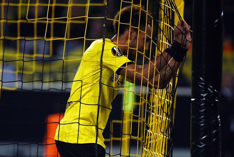 ØNSKET: Arsenal skal visstnok følge den gabonske angriperen Pierre-Emerick Aubameyang veldig tett.