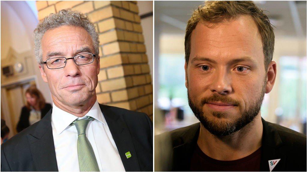 Verken Rasmus Hansson og Miljøpartiet De Grønne eller Audun Lysbakken og SV vil være med på asylavtalen som er i ferd med å bli ferdig.