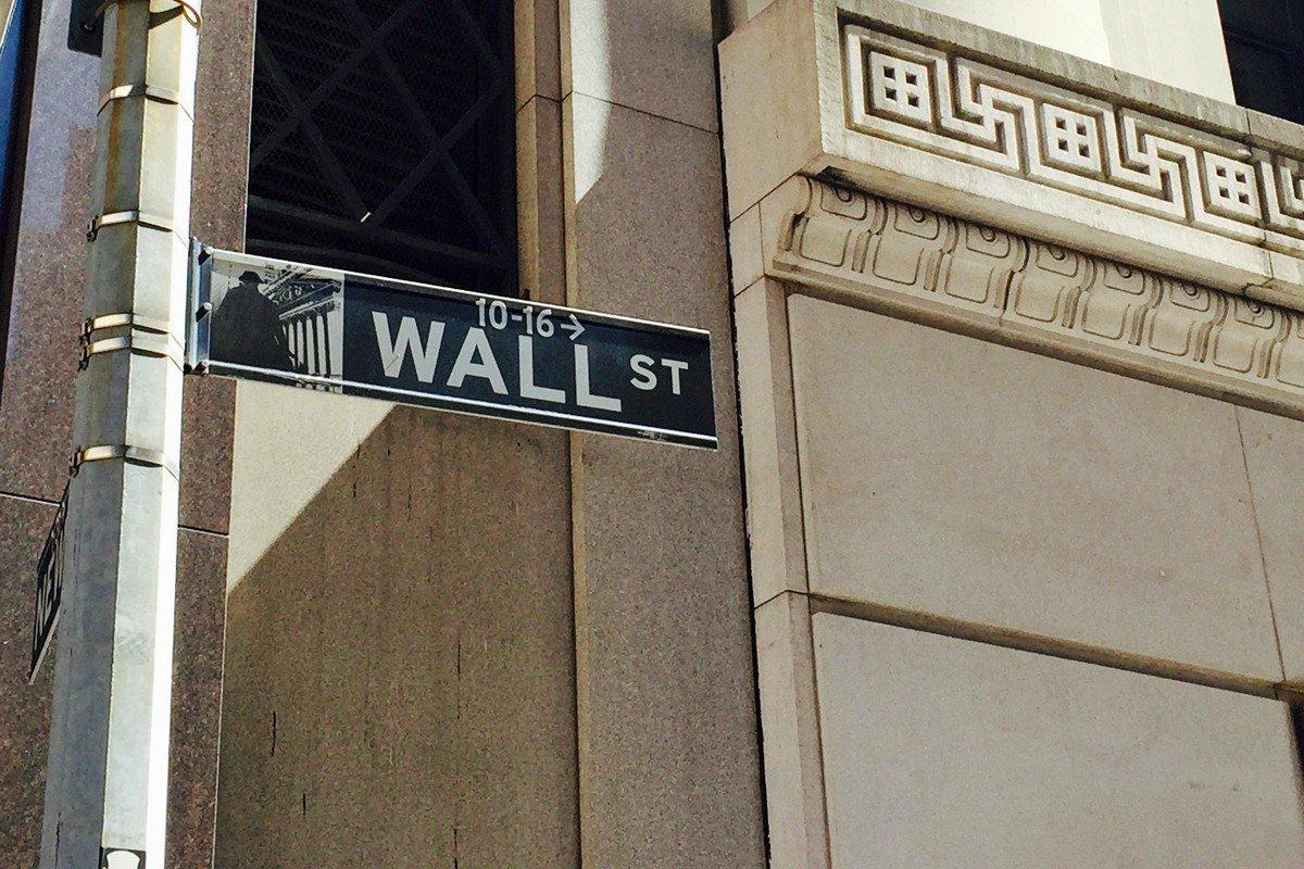 FINANSSENTRUM: Amerikanske børser ligger an til et hvileskjær torsdag etter oppgangen i går.