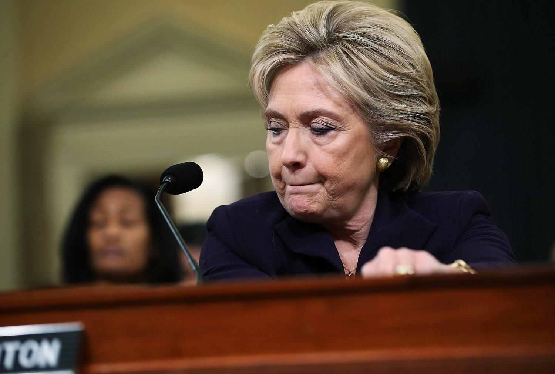 MER AGGRESSIV: Hillary Clinton tar til orde for en mer aggressiv kurs for å bekjempe ekstremistgruppen IS.